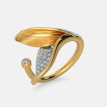 The Split Petalo Ring