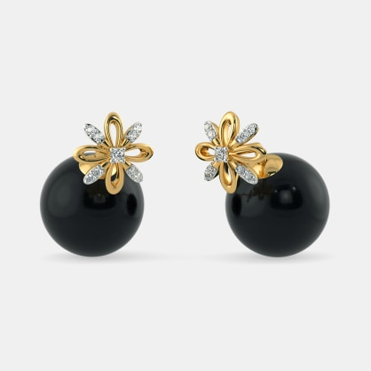 The Mona Onyx Earrings