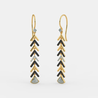 The Ebony Dazzling Earrings