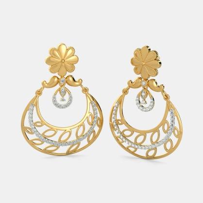 The Afroza Chand Bali Earrings