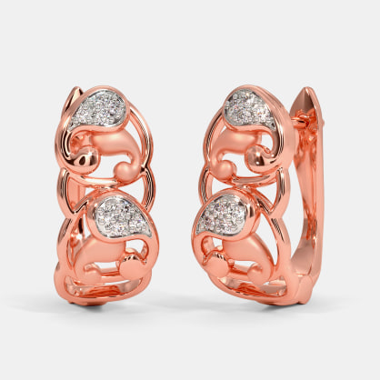 The Naved Huggie Earrings