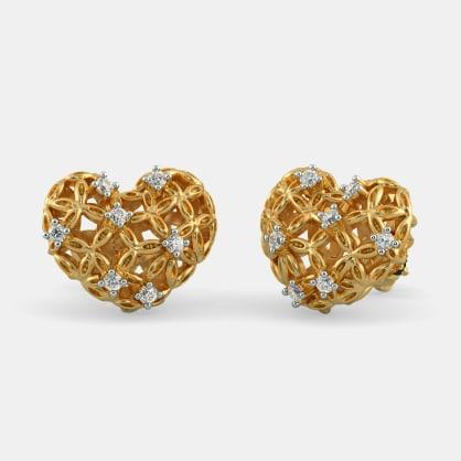 The Scintillating Bloom Stud Earrings