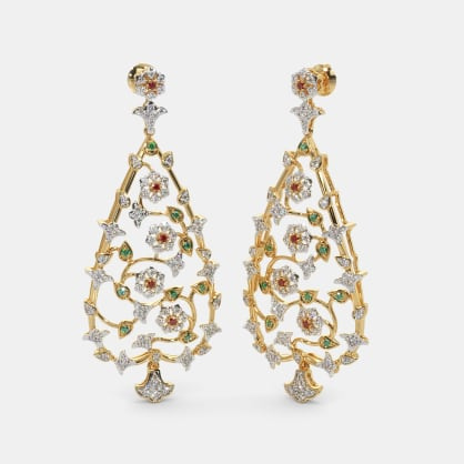 The Assyrian Drop Earrings