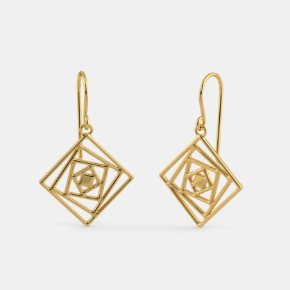 The Squared in Appeal Earrings