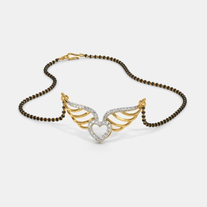 The Feather of Love Mangalsutra