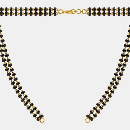 The Mangalsutra Double Line Open Chain