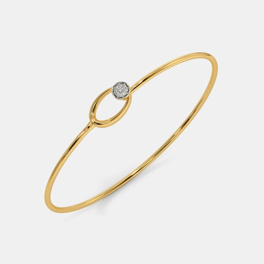 The Ilsa Pave Toggle Bangle