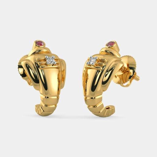 The Avighna Huggie Earrings
