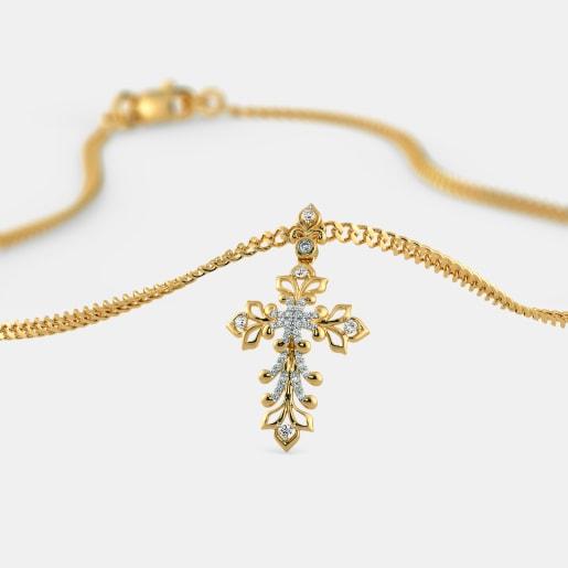 The Adina Cross Pendant