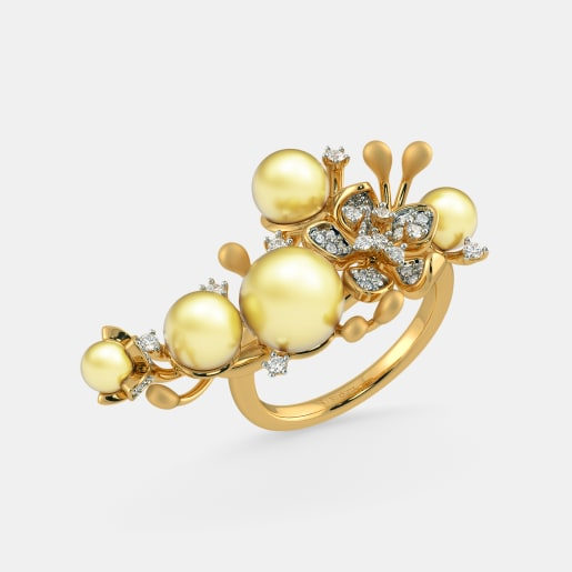 The Spring Plum Cocktail Ring