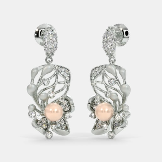 The Perel Posy Drop Earrings