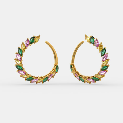 The Jadyn Hoop Earrings