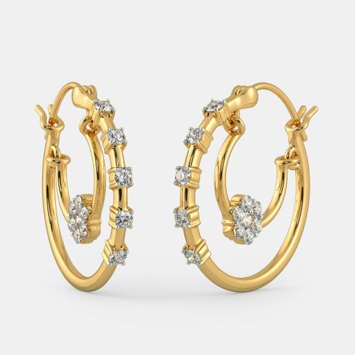 The Rasal Hoop Earrings