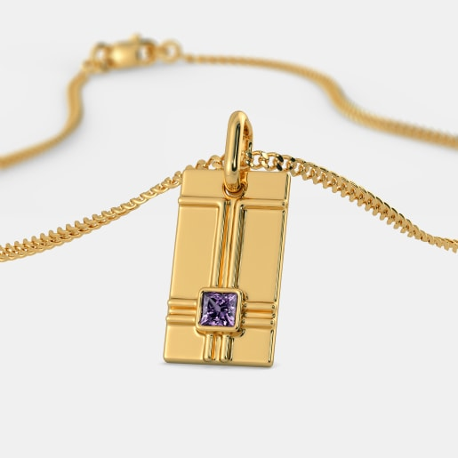 The Blue-Blooded Pendant