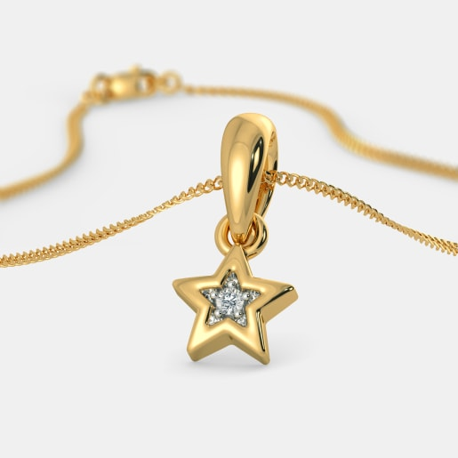 The Wishing Star Pendant For Kids