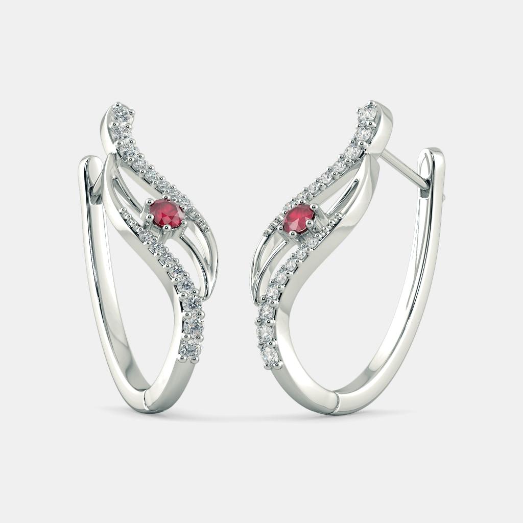 The Thiana Hoop Earrings