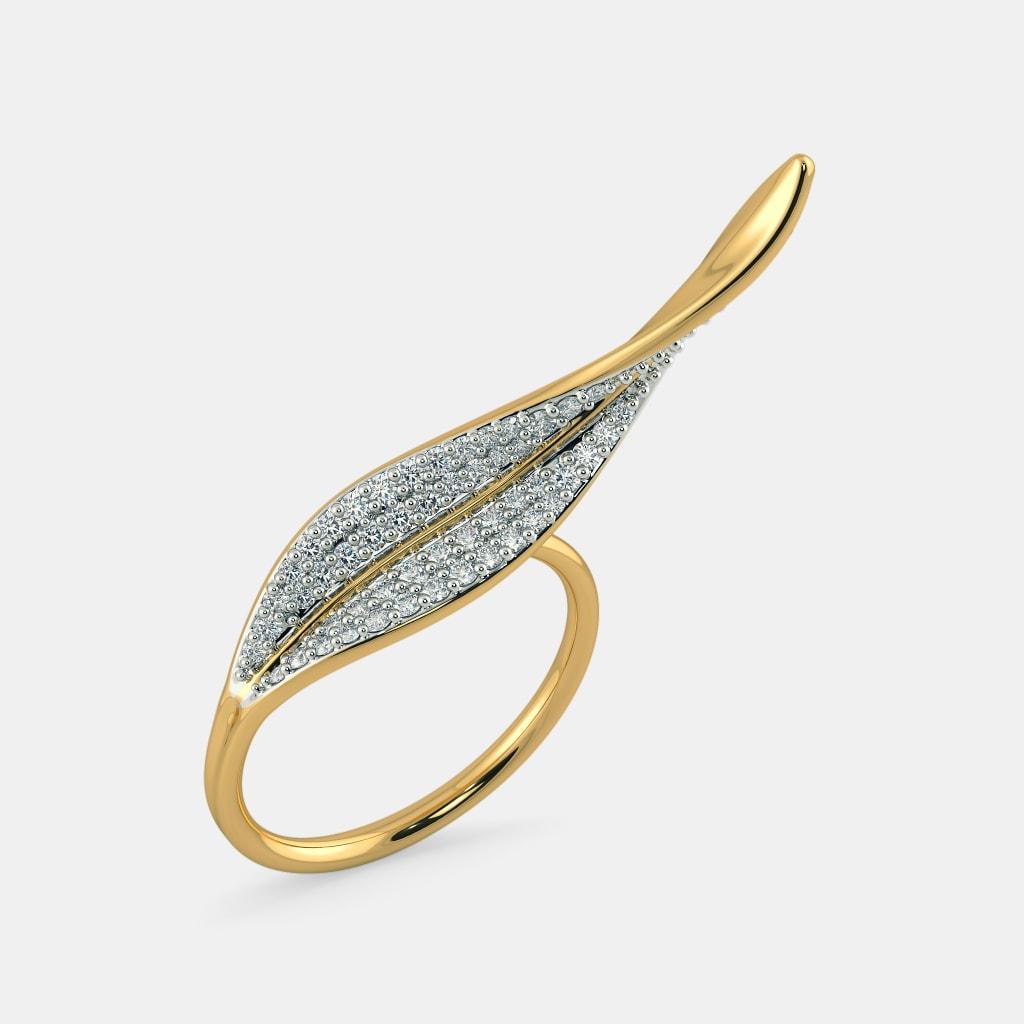 The Lilo Leaf Ring