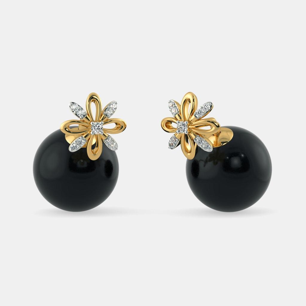 The Mona Onyx Earrings
