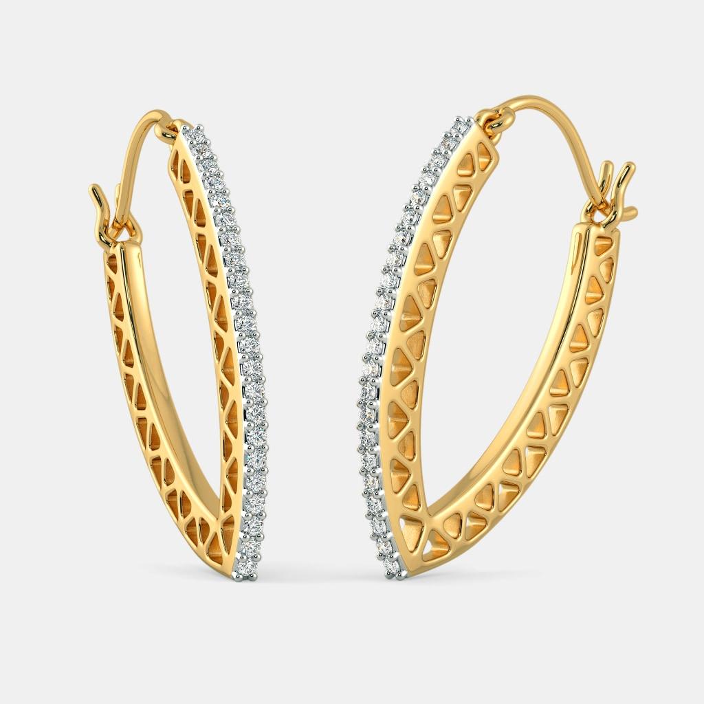 The Izel Hoop Earrings