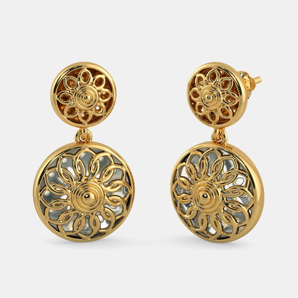 The Saksham Drop Earrings