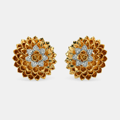 The Mesmerizing Glam Stud Earrings