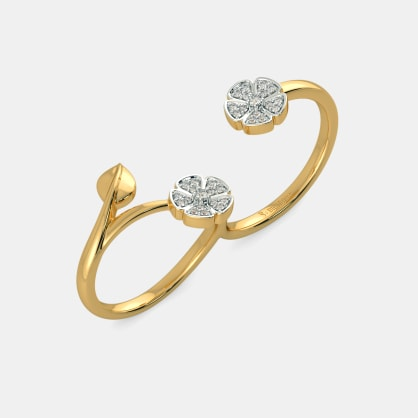 The Gracie Two Finger Ring