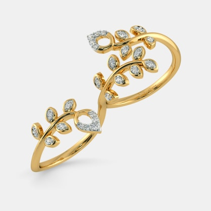 The Irrina Two Finger Ring