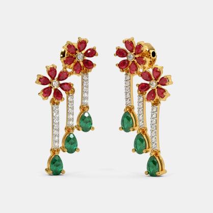 The Aaritra Drop Earrings