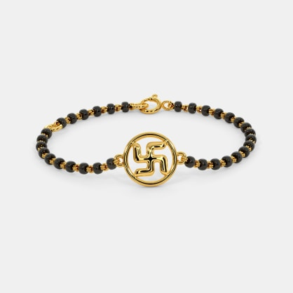 The Swastikey Infant Bracelet