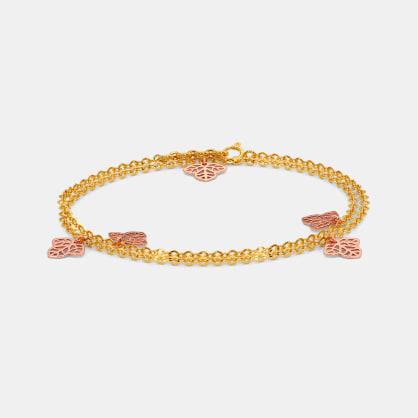 The Trinity Leaf Bracelet
