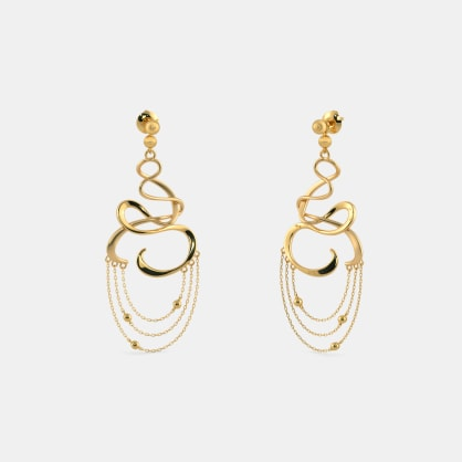 The Flama Drop Earrings