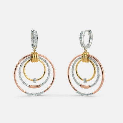 The Triune Drop Earrings