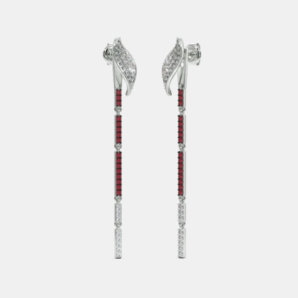The Folium Convertible Stiletto Earrings