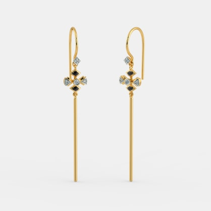 The Charmian Long Drop Earrings