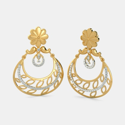 The Afroza Chand Bali Earrings