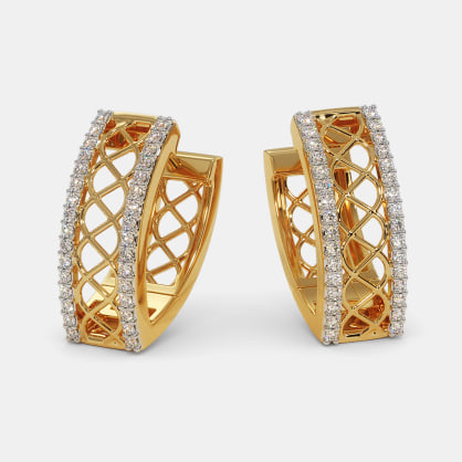 The Summit Hoop Earrings