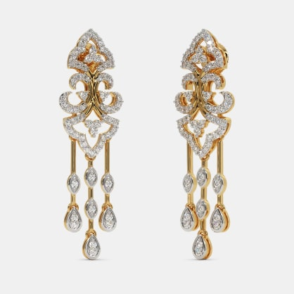 The Camelia Drop Earrings