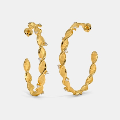 The Allorah Hoop Earrings