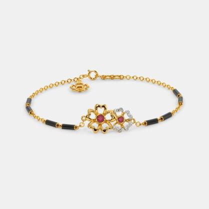 The Kloya Mangalsutra Bracelet