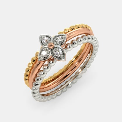 The Maise Stackable Ring