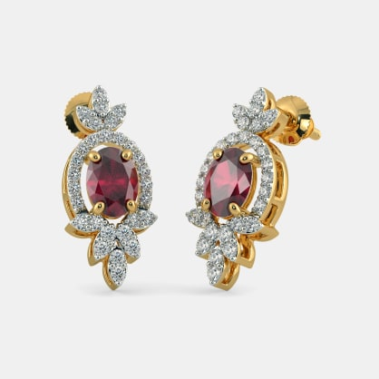 The Luxurious Floralia Stud Earrings