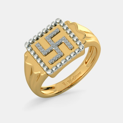 The Apurv Swastika Ring