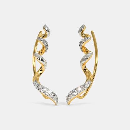 The Twirled Spiral Ear Cuffs