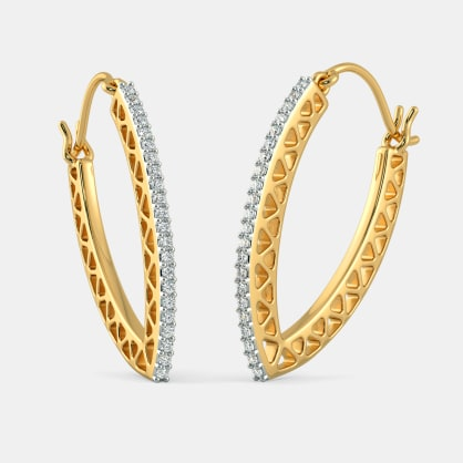 The Izel Hoop Earrings