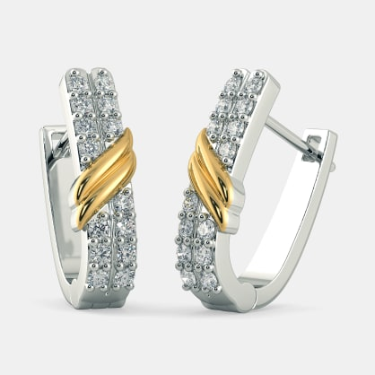 The Ayson Huggie Earrings