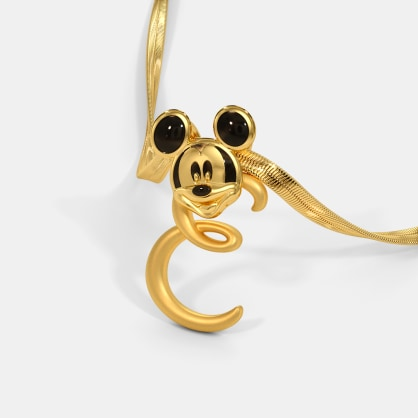 The E For Evershine Mickey Pendant For Kids