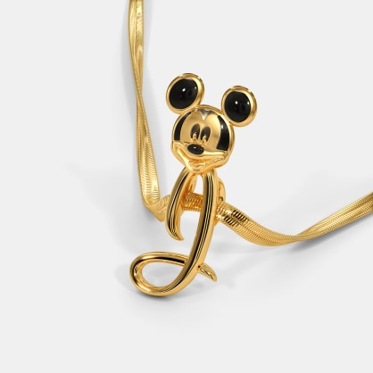 The I For Ivy Mickey Pendant For Kids