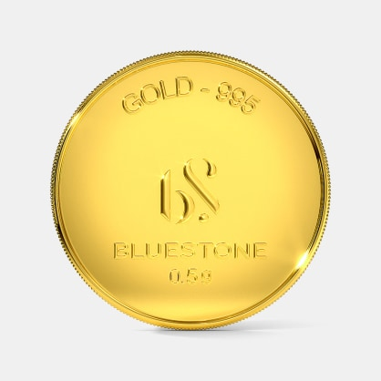 500 milligram 24 KT Gold Coin