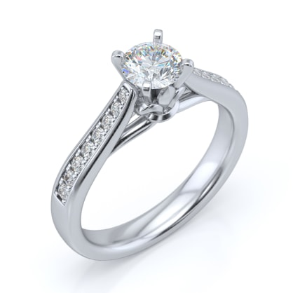 The Subtlely Charming Ring Mount