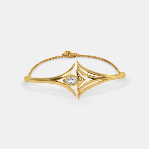 The Mahsa Oval Bangle